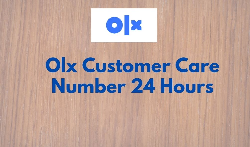 olx customer care number